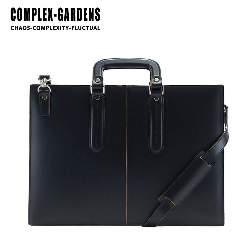 2WAY ビジネスバッグ 3703 青木鞄 コンプレックスガーデンズ 40cm A4サイズ 3方開き 枯淡