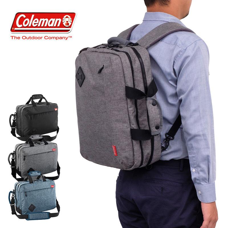 【在庫限り】3WAY ビジネスバッグ MISSION B4 コールマン Coleman ミッションB4アトラス