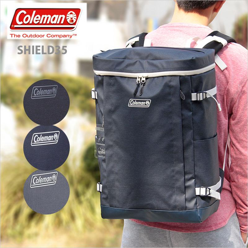 スクエア型リュックサック リュック 35L SHIELD35 コールマン Coleman シールド35 シールド