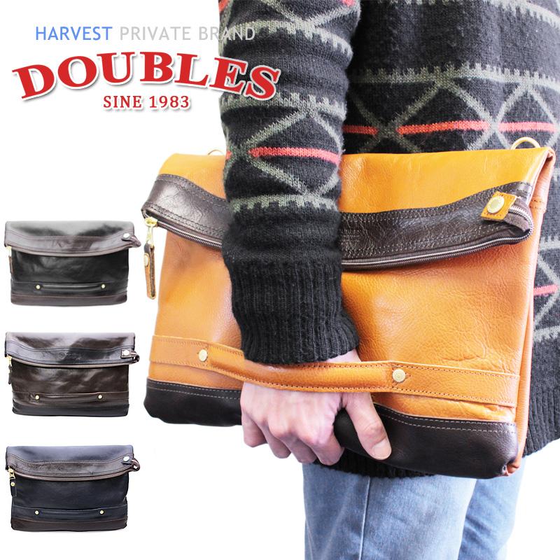 2WAYクラッチバッグ JRI-1957 ハーベスト HARVEST ダブルス DOUBLES クラッチショルダー