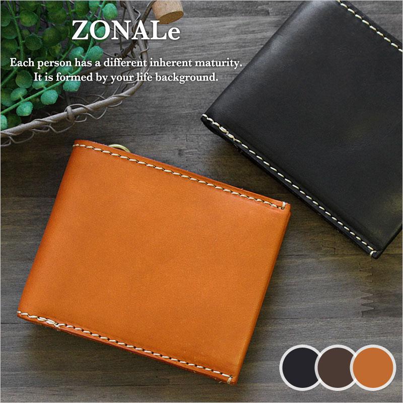 二つ折り財布 財布 31043 ゾナール ZONALe テラロッサ TERRA ROSSA