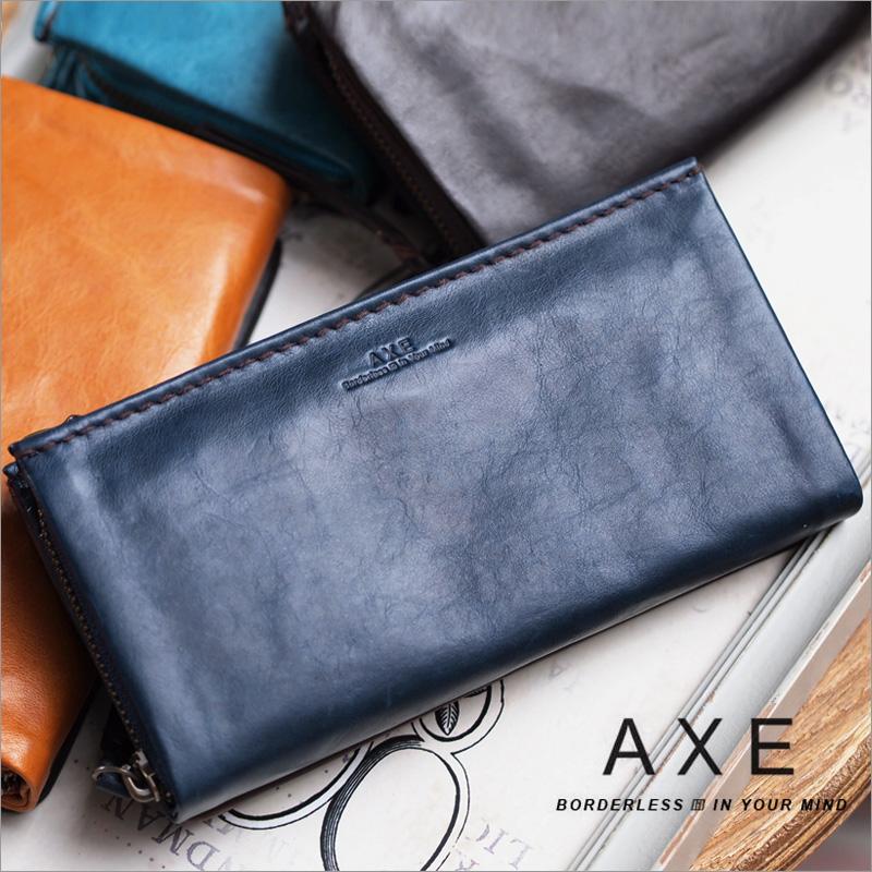 長財布 財布 603615 アックス AXE ラウンドファスナー ピロー小物
