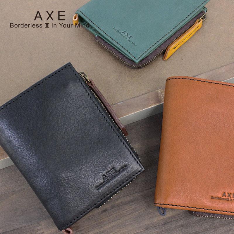 アックス AXE 二つ折り財布 財布 ポッケ小物 605612