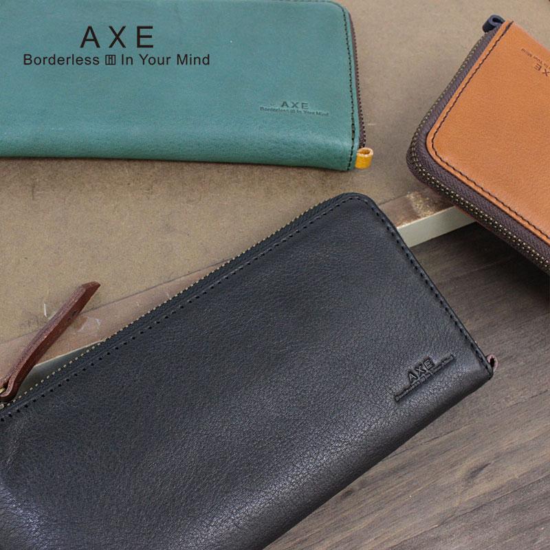 アックス AXE L字ファスナー 長財布 財布 ポッケ小物 605613