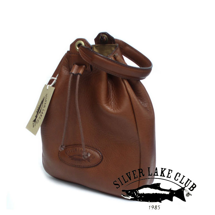 巾着型ミニバッグ 130935 130932 シルバーレイククラブ SILVER LAKE CLUB 牛革 オイルレザー