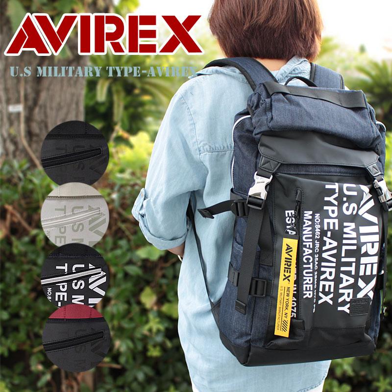 フラップ リュックサック リュック AVX594 アビレックス(アヴィレックス) AVIREX SUPER HORNET スーパーホーネット