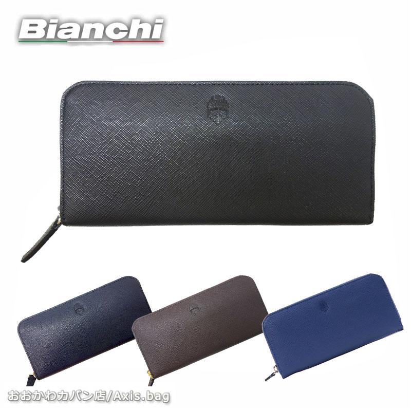 長財布 財布 BIA1006 ビアンキ Bianchi ラウンドファスナーフランコ franco