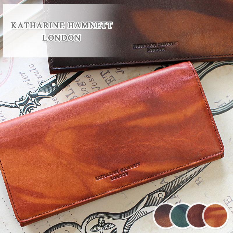 長財布 財布 490-59203 キャサリンハムネット KATHARINE HAMNETT LONDON FLUID フルード