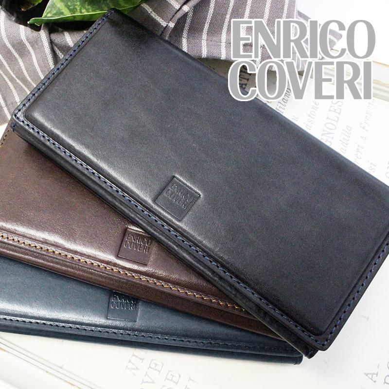 長財布 財布 ECM041 エンリココベリ ENRICO COVERI オブリガード