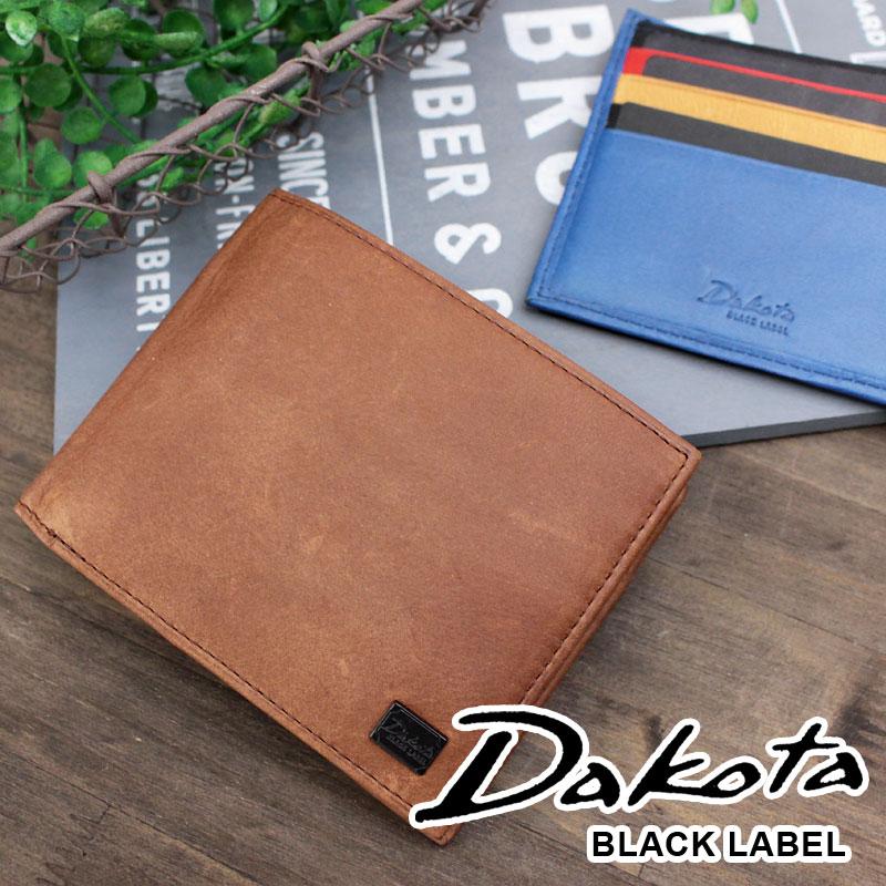 二つ折り財布 財布 0625900 ダコタ ブラック レーベル Dakota BLACK LABEL ワキシー