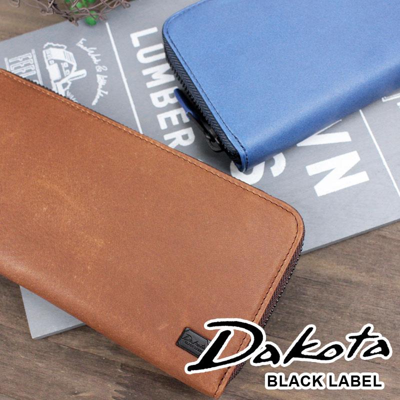 長財布 財布 0625903 ダコタ ブラック レーベル Dakota BLACK LABEL ラウンドファスナーワキシー