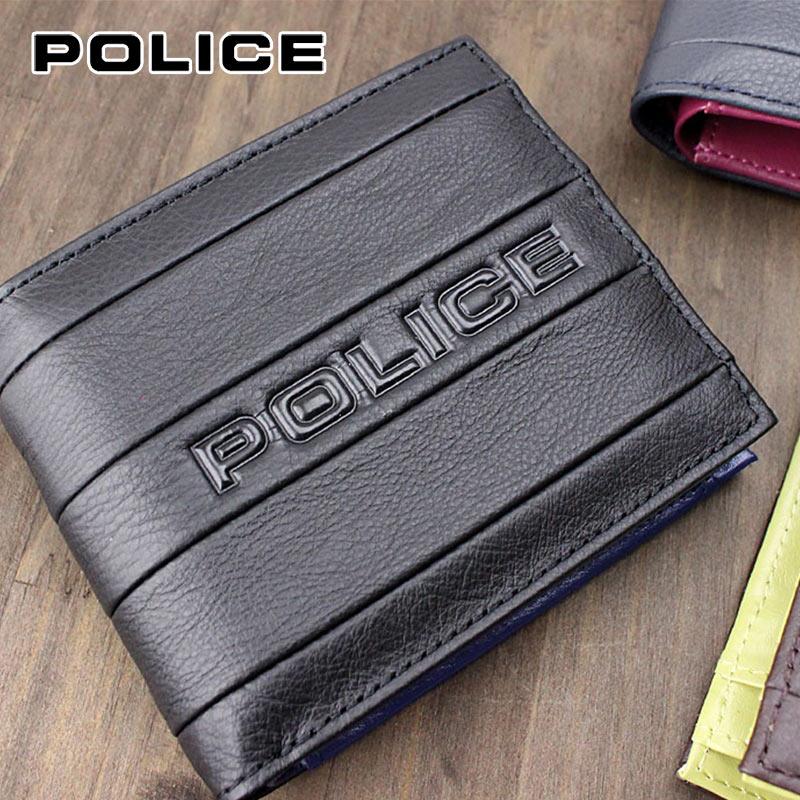 二つ折り財布 財布 0406/PA-59901 ポリス POLICE BICOLORE ビコローレ