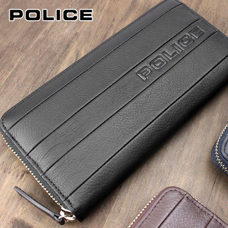 ラウンドファスナー長財布 財布 0408/PA-59903 ポリス POLICE BICOLORE ビコローレ