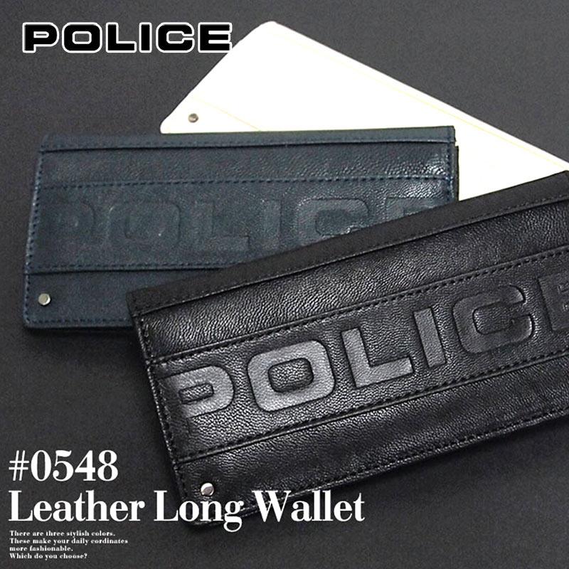 3e8cdbd6ec98 長財布 財布 0548/PA-58101 ポリス POLICE METRO メトロ-メンズ財布 ...