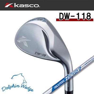 【ゼロス7】【18年最新】Kasco(キャスコ) ドルフィンウェッジ DW118 N.S.PRO ZEROS7(ゼロス7)スチールシャフト(メンズ)