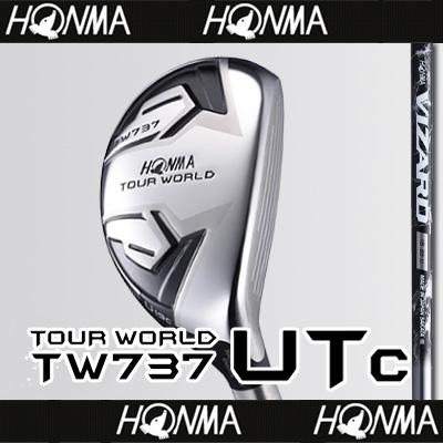 【■TW737/UTc(コンパクト)】【52%OFF】本間ゴルフ【日本仕様】TW737 UTc(コンパクト)ユーティリティVIZARD IB-Uカーボンシャフト【TOUR WORLD(ツアーワールド)】【2017年カタログ掲載モデル】