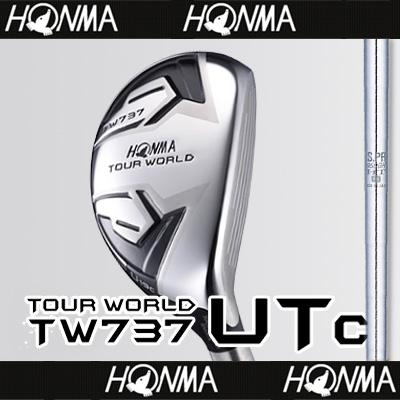 【■TW737/UTc(コンパクト)】【57%OFF】本間ゴルフ【日本仕様】TW737 UTc(コンパクト)ユーティリティN.S.PRO 950GHスチールシャフト【TOUR WORLD(ツアーワールド)】【2017年カタログ掲載モデル】