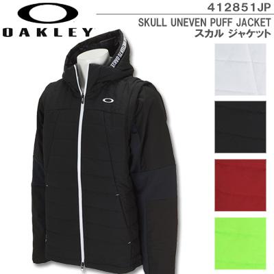 【19秋冬】【40%OFF】OAKLEY(オークリー)412851JP SKULL UNEVEN PUFF JACKET スカル ジャケット