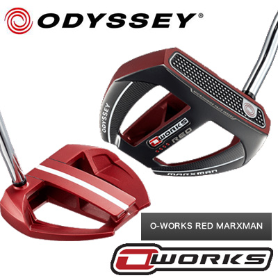 【O-WORKS●赤】【17年】ODYSSEY(オデッセイ)O-WORKS MARXMAN【RED】【レッド】オー・ワークス パター【日本仕様】