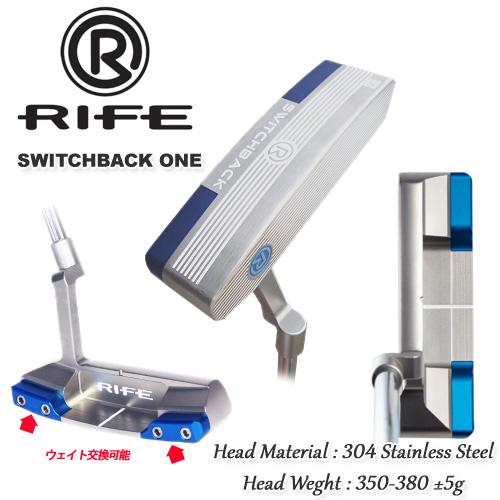 RIFE GOLF(ライフ ゴルフ) SWITCHBACK ONE パター スイッチバックワン パター 【09728】