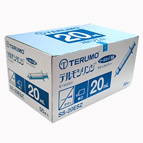 TERUMO テルモシリンジ 20mL SS-20ESZ 1ケース12箱(1箱50本入)