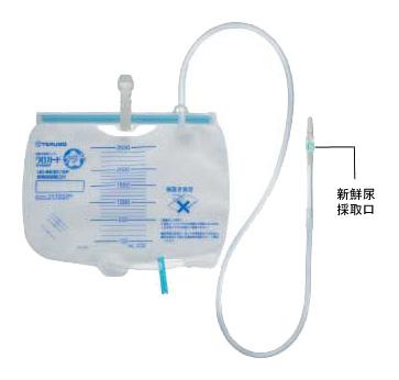テルモ ウロガードプラス UD-BE3112P 5個入り 10箱セット 新鮮尿採取口:あり 逆流防止弁:あり