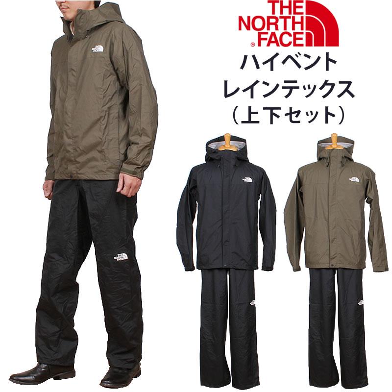 THE NORTH FACE ザ ノースフェイス NP61916 HYVENT RAINTEX JACKET ハイベントレインテックスレインウェア/レインスーツ/かっぱNP61916_K