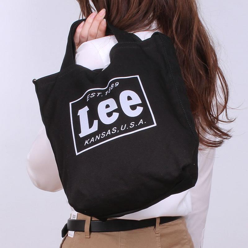 Lee 2WAY tote bag / shoulder / denim / canvas / canvas /TOTE BAG Lee/ Lee / QPER60_0287_0286_0288-0425315
