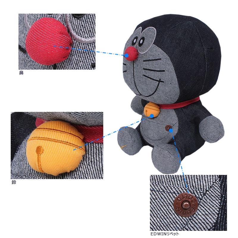 EDWIN/ Edwin / EDWIN /DORAEMON/ doll /VINTAGE/ vintage / vintage / collaboration // QCIR10_0020 including the EDWIN ★ Doraemon oar denim sewing