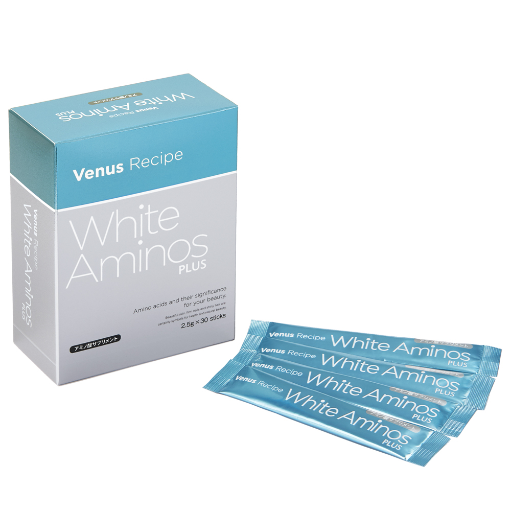 美容 サプリ アミノ酸 コラーゲン ビーナスレシピ AXXZIA | アクシージア ヴィーナスレシピ ホワイトアミノズ プラス 75g