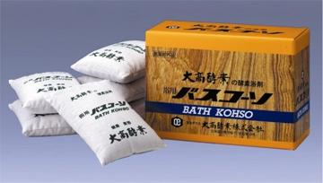 在庫限り 大高酵素 中古 発送に数日かかる場合があります 浴用バスコーソ100g×6袋入り ●日本正規品●