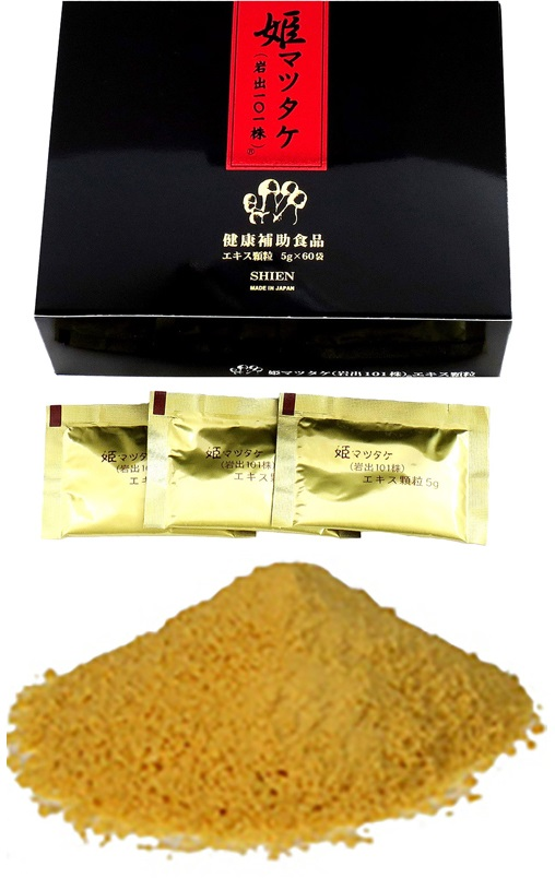 ・姫マツタケ(岩出101株) エキス顆粒 300g(5g×60袋)【発送までに数日かかる場合がございます。】