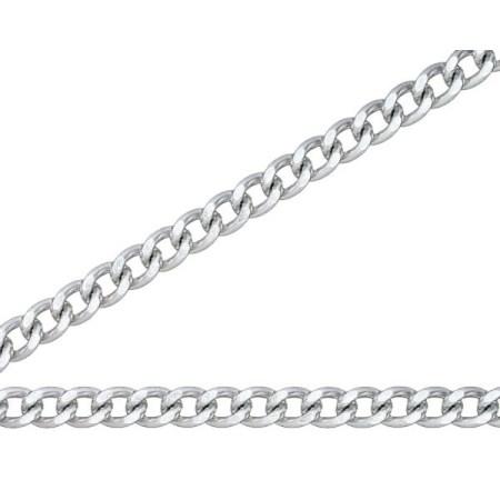 ニッサチェイン 銀色 アルミカラーチェン 30m AS22F【ニッサチェイン チェーン 鎖】