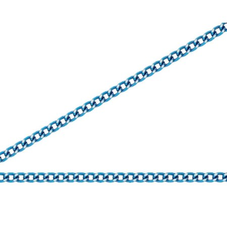 ニッサチェイン 青色 アルミカラーチェン 30m AS12C【ニッサチェイン チェーン 鎖】