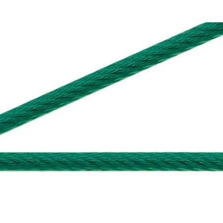 ニッサチェイン 緑コーティングワイヤー100m巻 R-IY45V【ニッサチェイン パーツ ワイヤー】