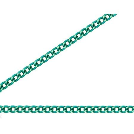 ニッサチェイン 緑 アルミ Cマンテル 30m巻 R-AS12C【ニッサチェイン チェーン 鎖】