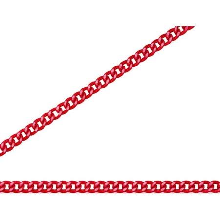 ニッサチェイン 赤 アルミ Cマンテル 30m巻 R-AS12C【ニッサチェイン チェーン 鎖】