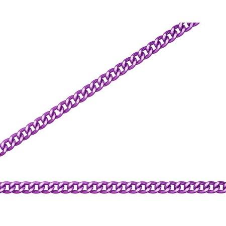 ニッサチェイン 紫 アルミ Cマンテル 30m巻 R-AS12C【ニッサチェイン チェーン 鎖】