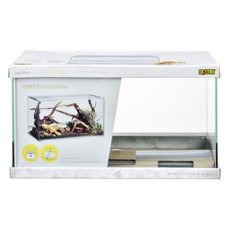 レプテリアクリア450スリム【ジェックスペット爬虫類ケージ水槽】