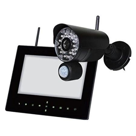 らくらくアイキャン 屋外ワイヤレスカメラセット NS-9015WMS【NSK 防犯 インターホン 玄関 ドアホン】