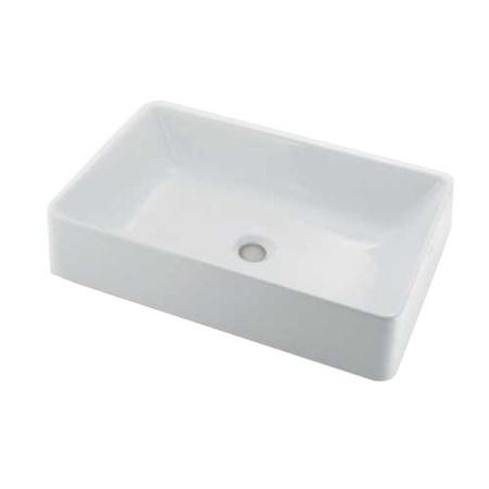 #LY-493212 角型洗面器【カクダイ 水道用品 補修 交換 洗面 手洗】