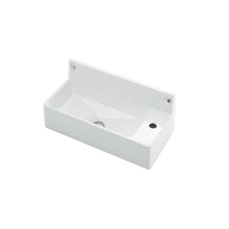 祝日 送料無料 水道用品メーカー カクダイ の壁掛手洗器です 493-155 壁掛手洗器 補修 洗面 交換 お得クーポン発行中 水道用品 手洗
