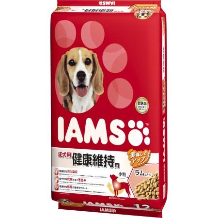 アイムス 成犬用 健康維持用 ラム&ライス 小粒 12kg【マースジャパン ペット フード ドッグフード ドライ】