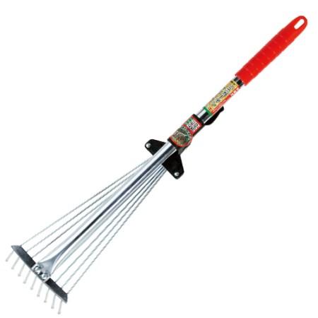 【あす楽対応】庭周りのお掃除に最適です 藤原産業伸縮ミニガーデンクリーナーSGR-10【藤原産業園芸掃除清掃】