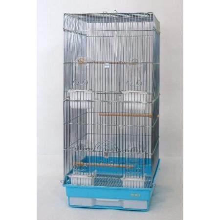 豊栄金属鳥かご35ロング(底ブルー)
