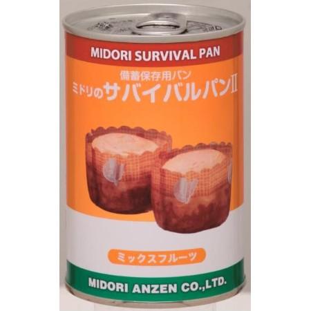 非常食 ミドリのサバイバルパン ミックスフルーツ味(24缶セット)【10P02Mar14】