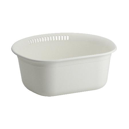 【あす楽対応】Agの力で抗菌、衛生的に使えます。 Nポゼ洗い桶(35型)ホワイト