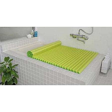 Agカラーイージーウェーブ風呂ふたM12(70×121cm)グリーン(風呂蓋ふた蓋風呂フタ)【RCP】