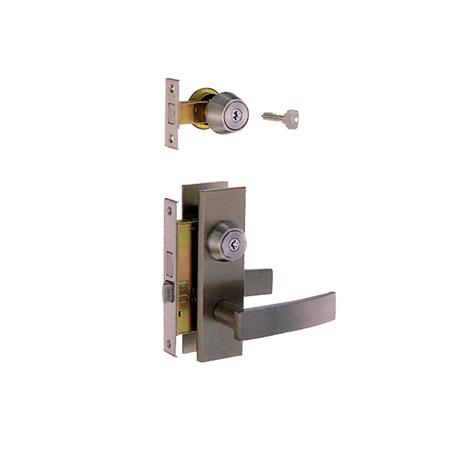 MIWA(美和ロック) 装飾錠・サムラッチ 玄関  タイプトステム M-48