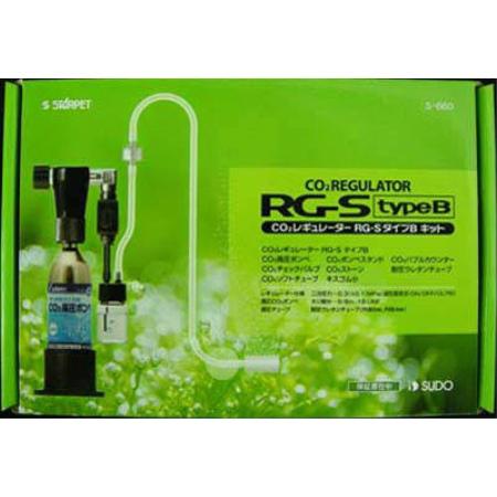 水草を植えたらすぐにスタートできるプライマリーキットです オンラインショッピング CO2レギュレーターRG-SタイプBキット 本日の目玉